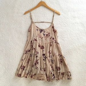 Brandy Melville rare cherry blossom Jada dress